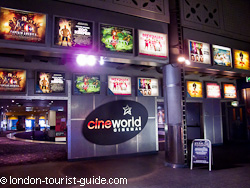 Cineworld at the Trocadero