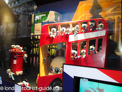 A window display at Hamleys