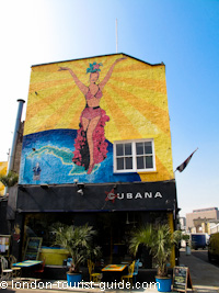 Cubana Bar in Lower Marsh