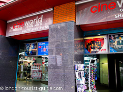Cineworld Cinema in Piccadilly Circus
