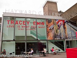 Entrance to the Hayward Gallery