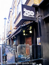 Zoo Bar in Leicester Square