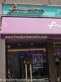 Freedom Bar in Soho