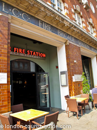 The Fire Station pub in Waterloo