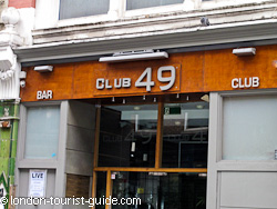 Club 49 in Soho