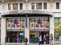 separation shoes c7dbb 74830 Apollo Cinema near Piccadilly Circus