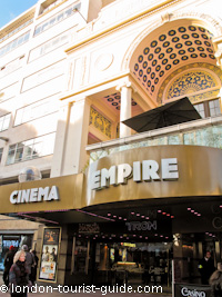 Empire Cinema in Leicester Square