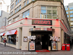 TGI Fridays near Piccadilly Circus