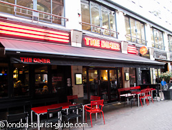 The Diner Restaurant in Soho