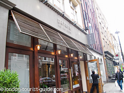 Patara Thai restaurant in Soho