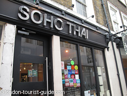 Soho Thai restaurant in Soho