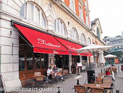 Tuttons Restaurant in Covent Garden