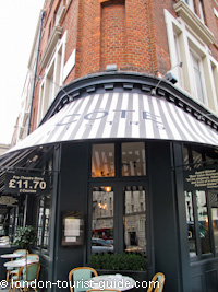 Cote Restaurant in Covent Garden