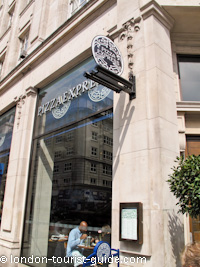 Pizza Express near Piccadilly Circus