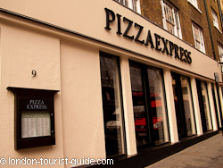Pizza Express Covent Garden