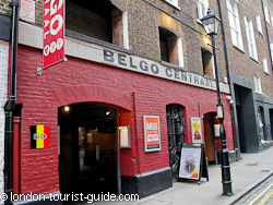 Belgo restaurant in Covent Garden