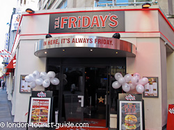 TGI Fridays in Leicester Square