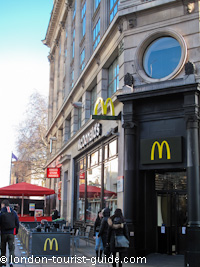 McDonalds in Leicester Square