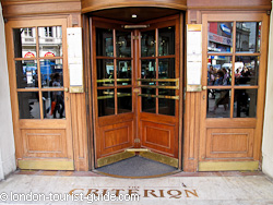 The Criterion Restaurant in Piccadilly Circus
