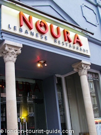 Noura Lebanese Restaurant in Piccadilly Circus
