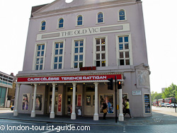 The Old Vic theatre in Waterloo