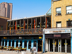 The Young Vic Theatre - opposite Livebait