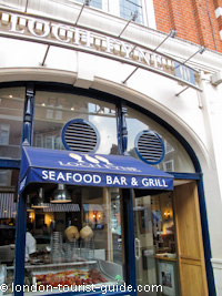 Loch Fyne Restaurant in Covent Garden