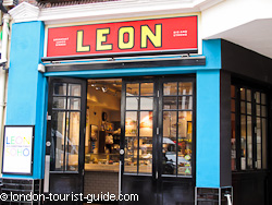 Leon take away in the heart of Soho