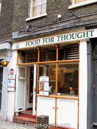 Food For Thought in Covent Garden
