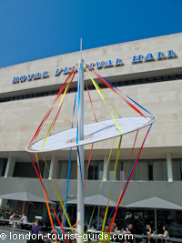 The Royal Festival Hall - in which Skylon can be found
