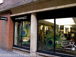 Mac make-up shop in Covent Garden