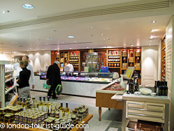 Fortnum And Mason Food Hall In Central London